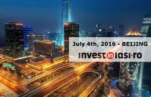 Invest in Iasi, Beijing 2016