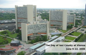 The Day of Iasi County at Vienna,  June 9-13, 2006